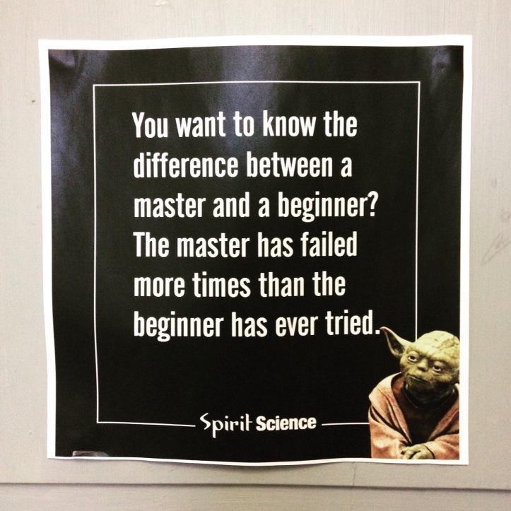 yoda master beginner quote
